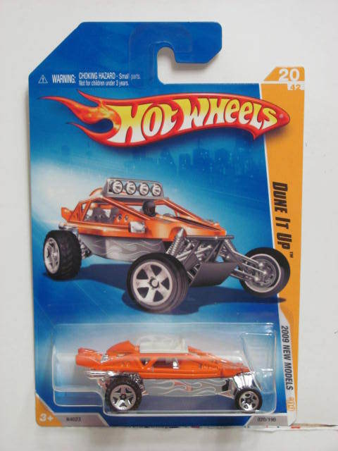 HOT WHEELS 2009 NEW MODELS DUNE IT UP ORANGE
