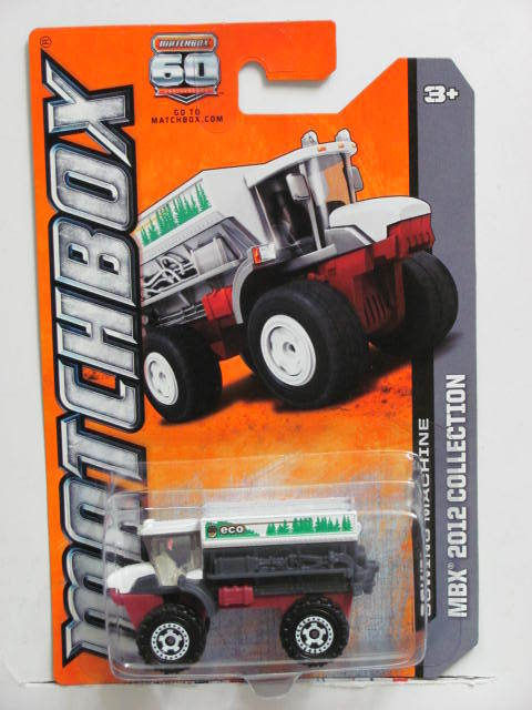 MATCHBOX 2013 MBX 2012 COLLECTION SOWING MACHINE