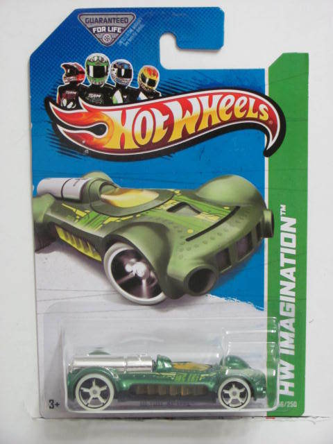 HOT WHEELS 2013 HW IMAGINATION RETRO-ACTIVE FUTURE FLEET