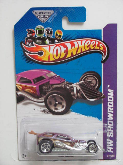 HOT WHEELS 2013 HW SHOWROOM SURF CRATE AMERICAN TURBO
