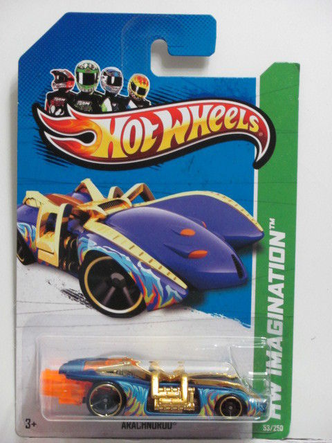 HOT WHEELS 2013 HW IMAGINATION - ARACHNOROD - HW STREET PESTS