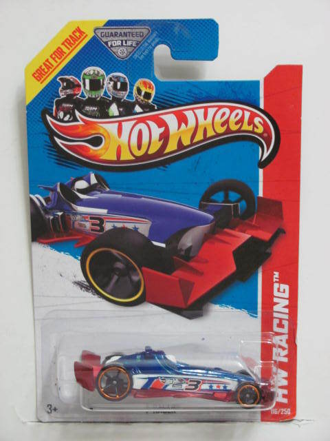 HOT WHEELS 2013 HW RACING F RACER - THRILL RACERS