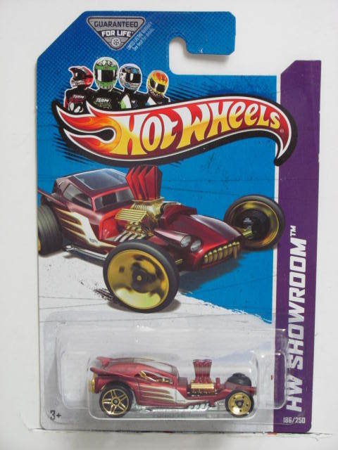 HOT WHEELS 2013 HW SHOWROOM FANGULA AMERICAN TURBO