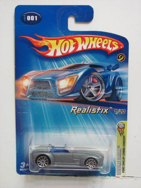 HOT WHEELS 2005 FIRST EDITIONS FORD SHELBY COBRA CONCEPT