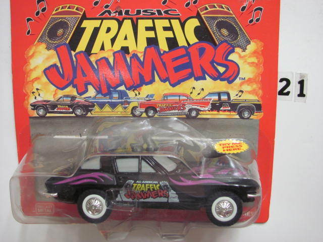 MAJORETTE MUSIC TRAFFIC JAMMERS CORVETTE 1:32
