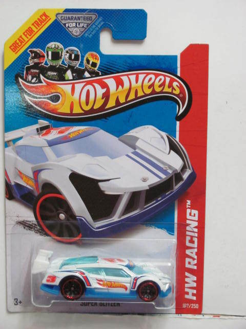 HOT WHEELS 2013 HW RACING SUPER BLITZEN - HW RACE TEAM WHITE