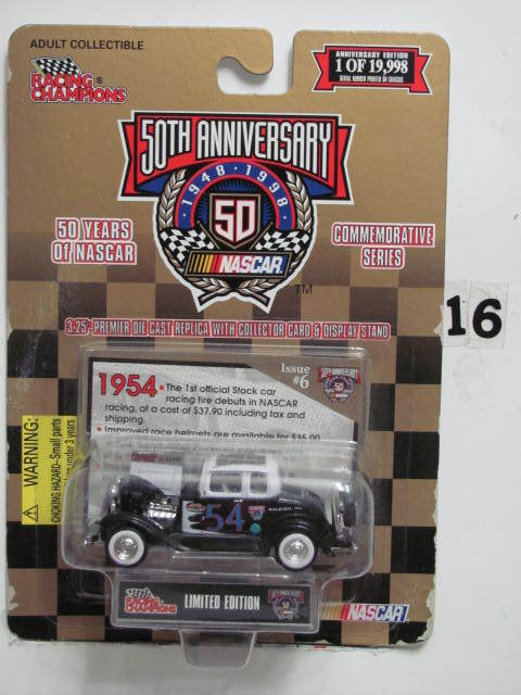 RACING CHAMPIONS ISSUE #6 LIMITED EDITION FORD #54