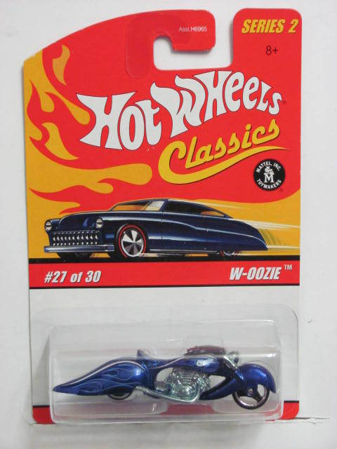 HOT WHEELS CLASSICS SERIES 2 #27/30 W-OOZIE BLUE