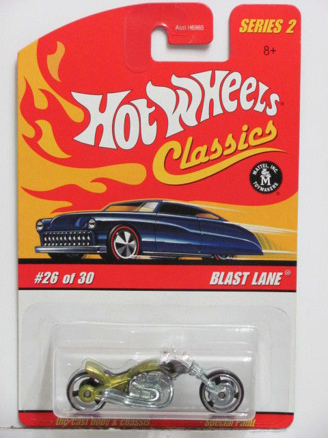 HOT WHEELS CLASSICS SERIES 2 #26/30 BLAST LANE