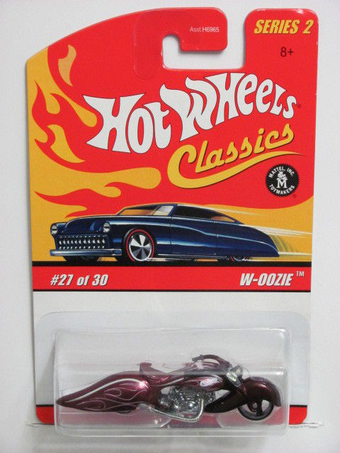 HOT WHEELS CLASSICS SERIES 2 #27/30 W-OOZIE PURPLE
