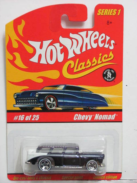 HOT WHEELS CLASSICS SERIES 1 #16/25 CHEVY NOMAD