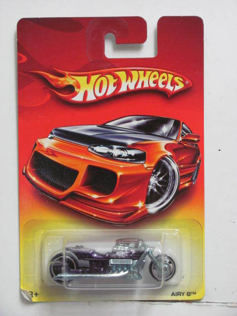 HOT WHEELS 2006 WALMART EXCLUSIVE AIRY 8 E+