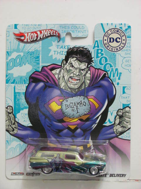 HOT WHEELS 2013 DC COMICS ORIGINALS 8 CRATE DELIVERY