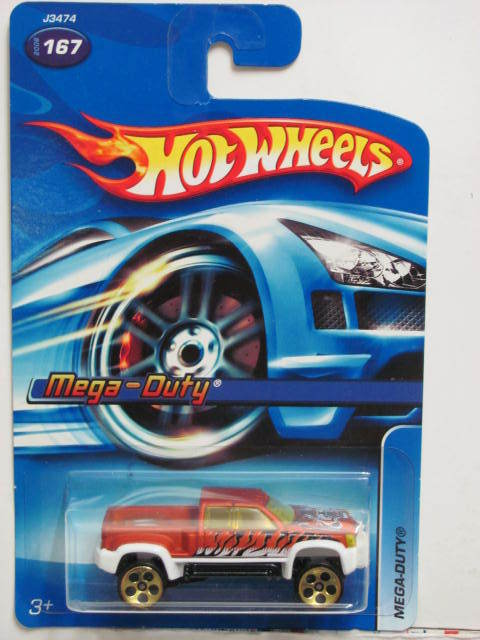 HOT WHEELS 2006 MEGA-DUTY #167