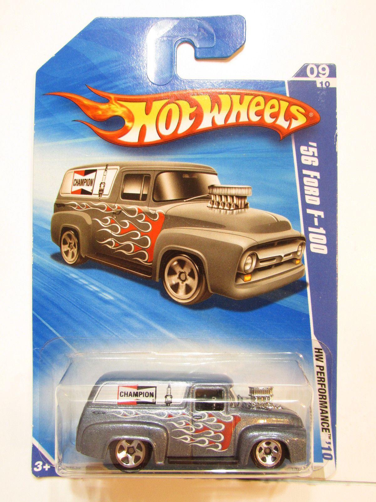 HOT WHEELS 2010 HW PERFORMANCE '56 FORD F-100