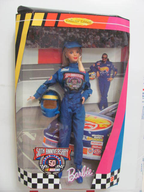 BARBIE DOLL NASCAR 50TH ANNIVERSARY