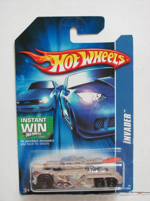 HOT WHEELS 2006 INVADER TAN