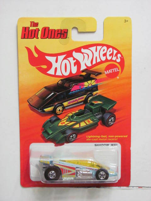 HOT WHEELS 2011 THE HOT ONES SHADOW JET