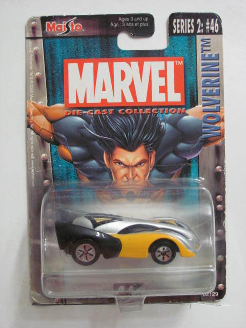 MAISTO ULTIMATE MARVEL WLV246 SERIES #2