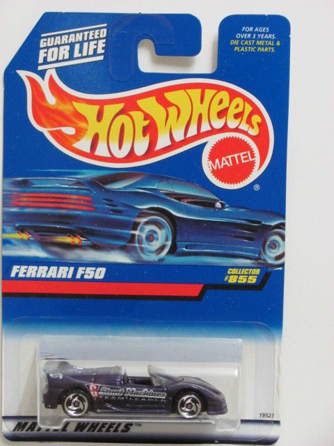 HOT WHEELS 1998 FERRARI F50 #855 SAWLADE WHEELS