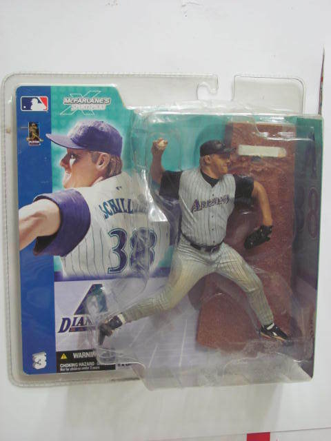 MLB DIAMOND BACKS McFARLANES SCHILLING FIGURE