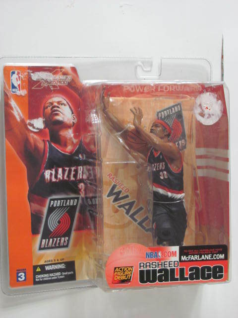 Nba MCFARLANE TOYS RASHEED WALLACE FIGURE SERIES 3