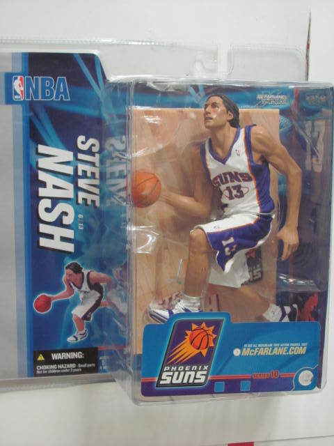 McFARLANE NBA 2005 SERIES 10 STEVE NASH ACTION FIGURE PURPLE