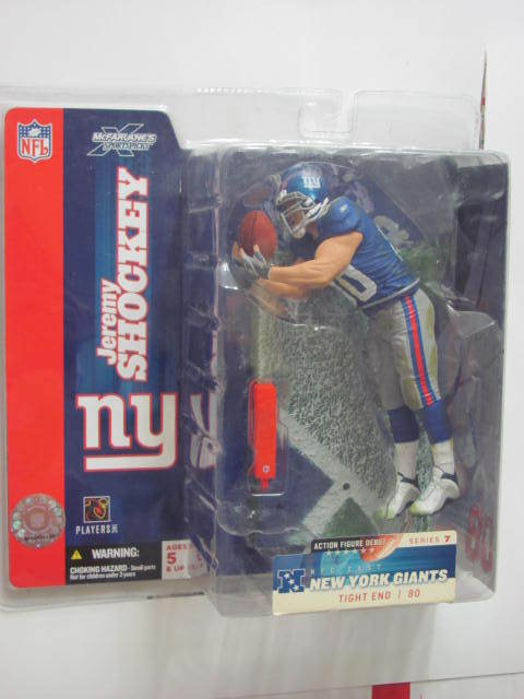 McFARLANE NFL NEW YORK GIANTS JEREMY SHOCKEY FIGURE