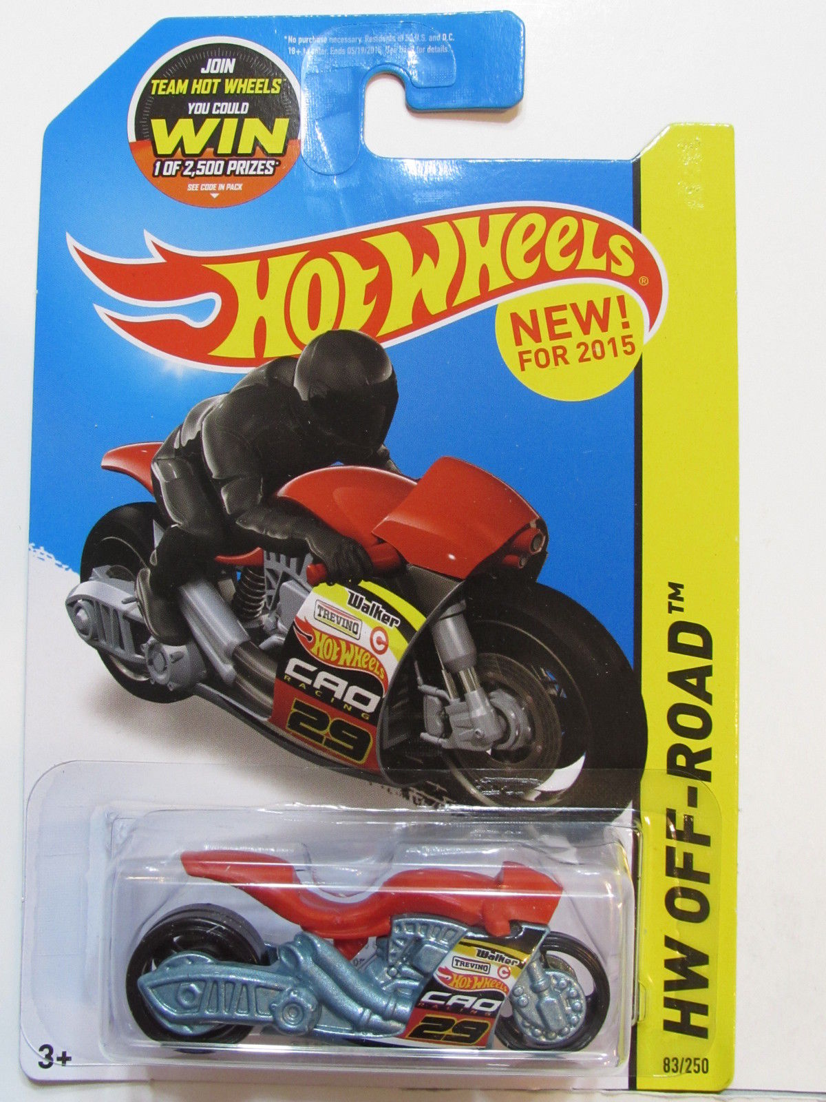 HOT WHEELS 2015 HW OFF ROAD - HW MOTO STREET STEALTH