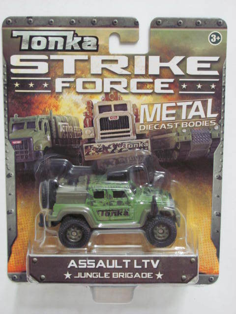 TONKA STRIKE FORCE METAL DIECAST ASSAULT LTV 3+