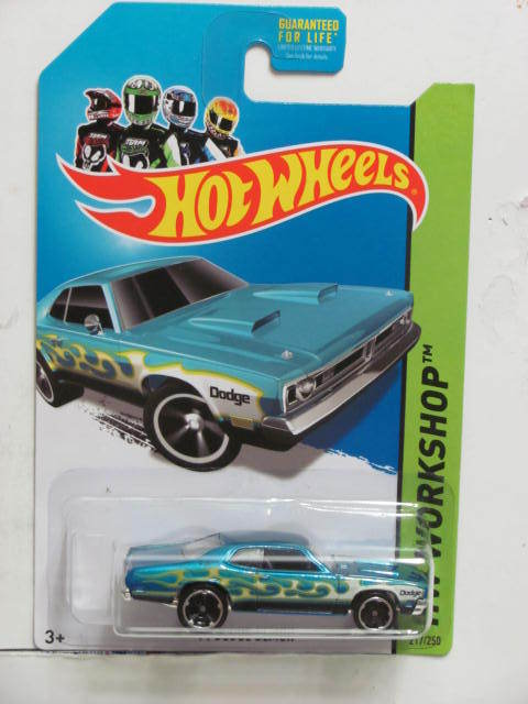 HOT WHEELS 2013 HW WORKSHOP - HEAT FLEET '71 DODGE DEMON