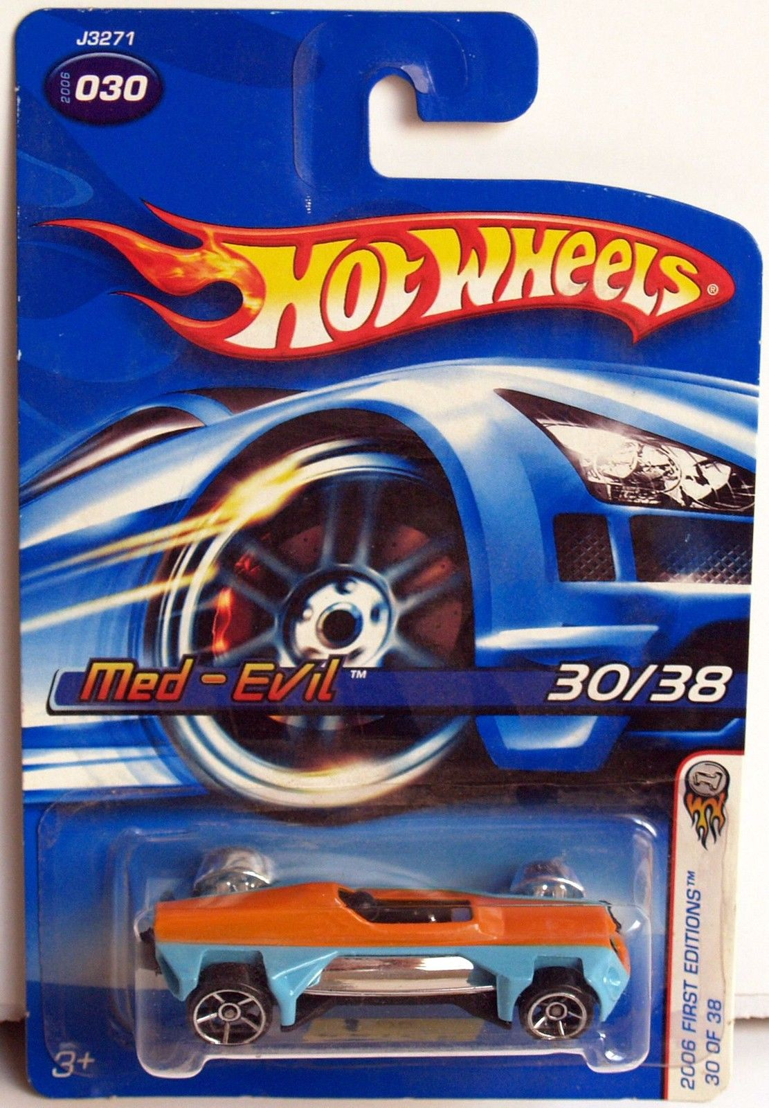 HOT WHEELS 2006 FIRST EDITIONS MED-EVIL #030 E+
