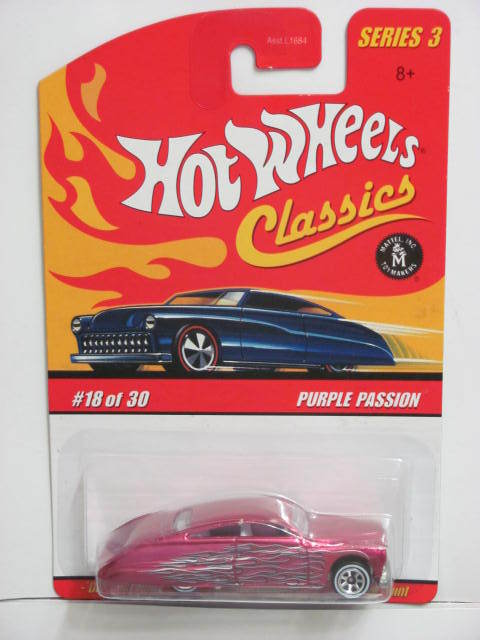 HOT WHEELS CLASSICS #18/30 PURPLE PASSION PINK