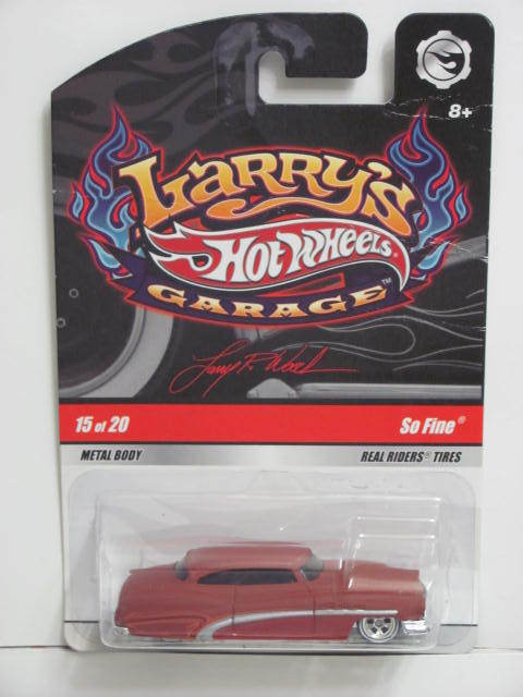 HOT WHEELS LARRY'S GARAGE SO FINE #15/20 CHASE