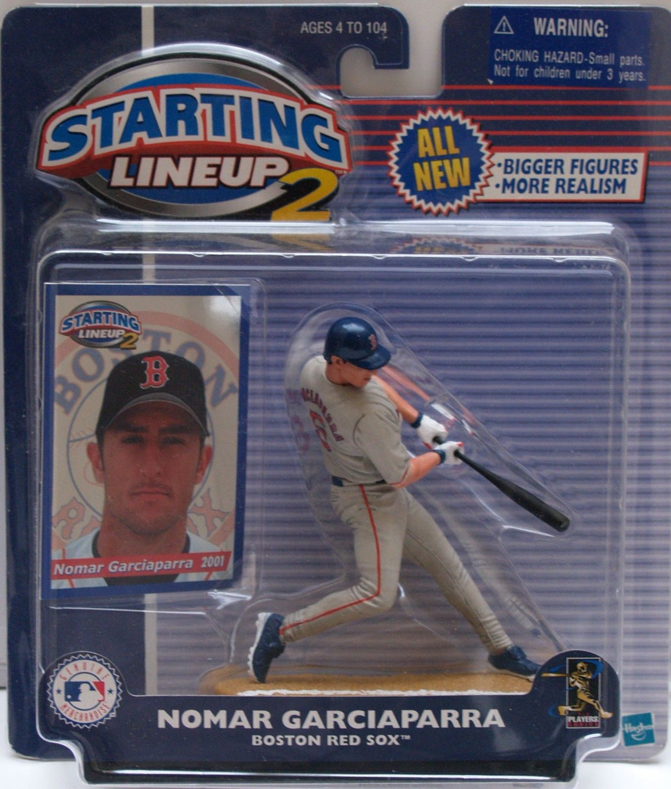 STARTING LINEUP 2 - NOMAR GARCIAPARRA 2001 - BOSTON RED SOX
