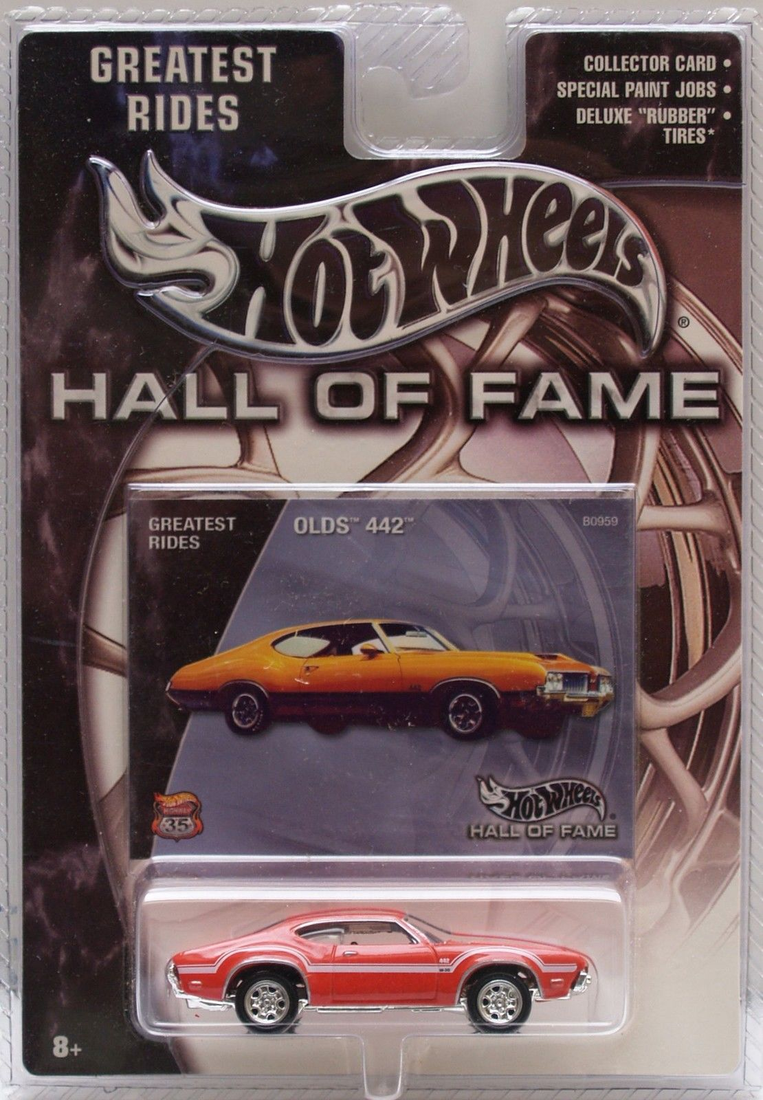 HOT WHEELS 2002 GREATEST RIDES - HALL OF FAME - OLDS 442
