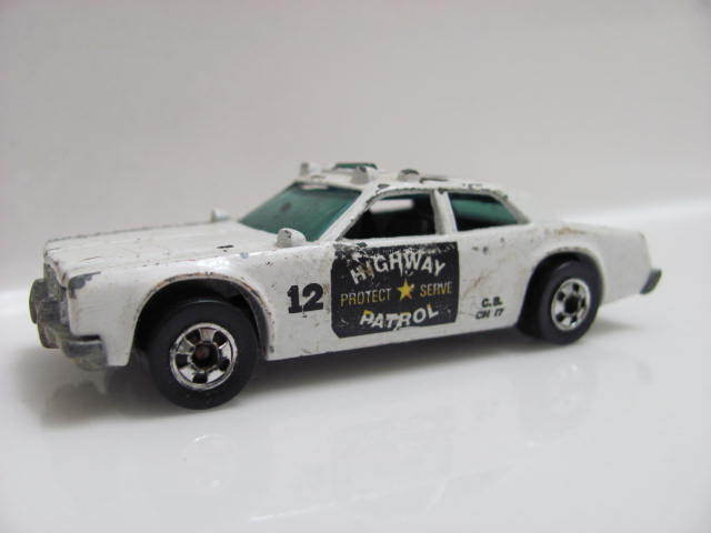 HOT WHEELS 1977 HIGHWAY PATROL #12 LOOSE C5