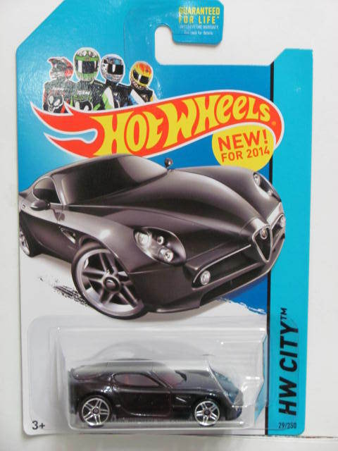 HOT WHEELS 2014 HW CITY - NIGHTBURNERZ ALFA ROMEO 8C COMPETIZIONE