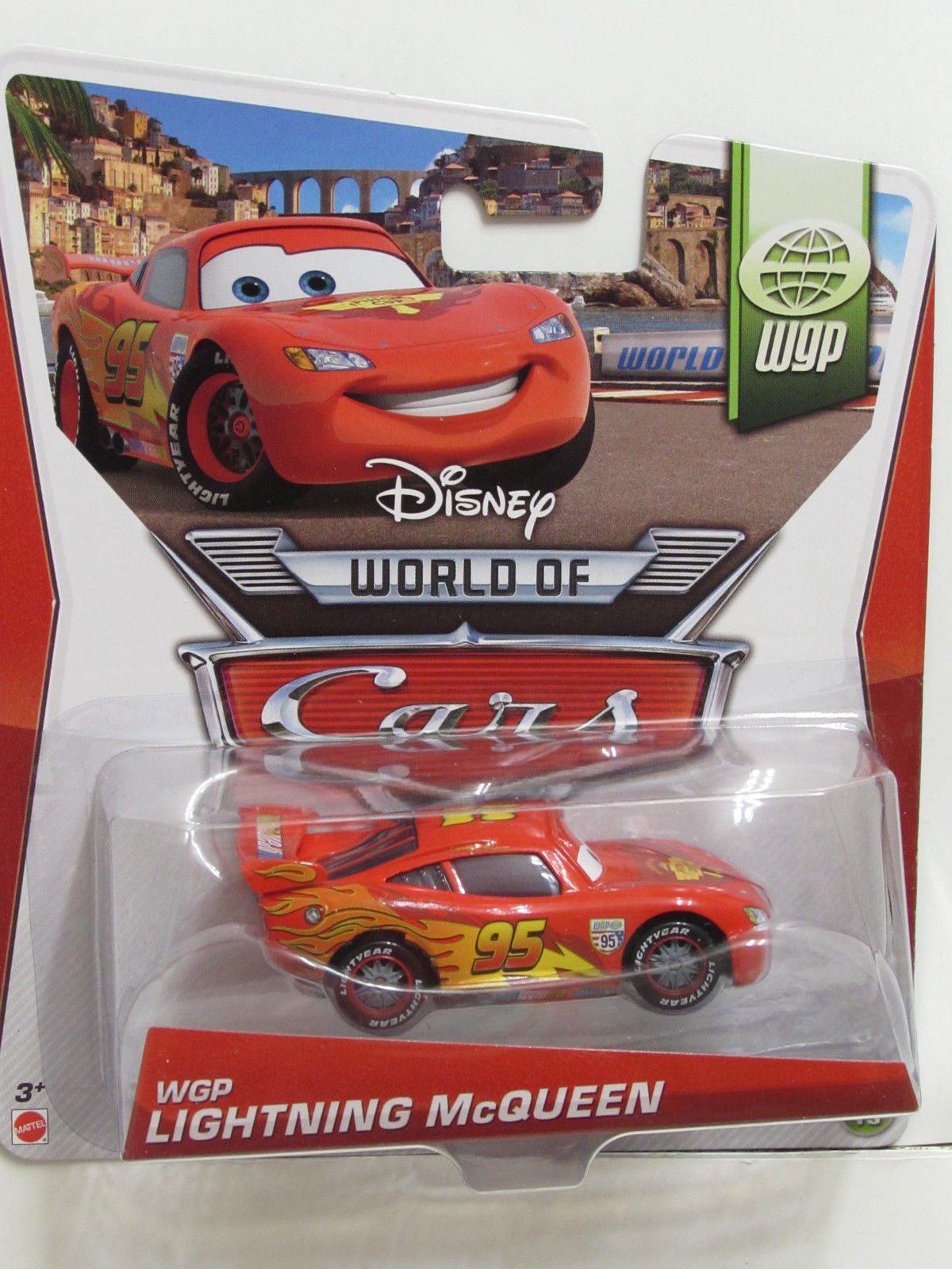 DISNEY PIXAR CARS WGP LIGHTNING McQUEEN - WORLD OF CARS