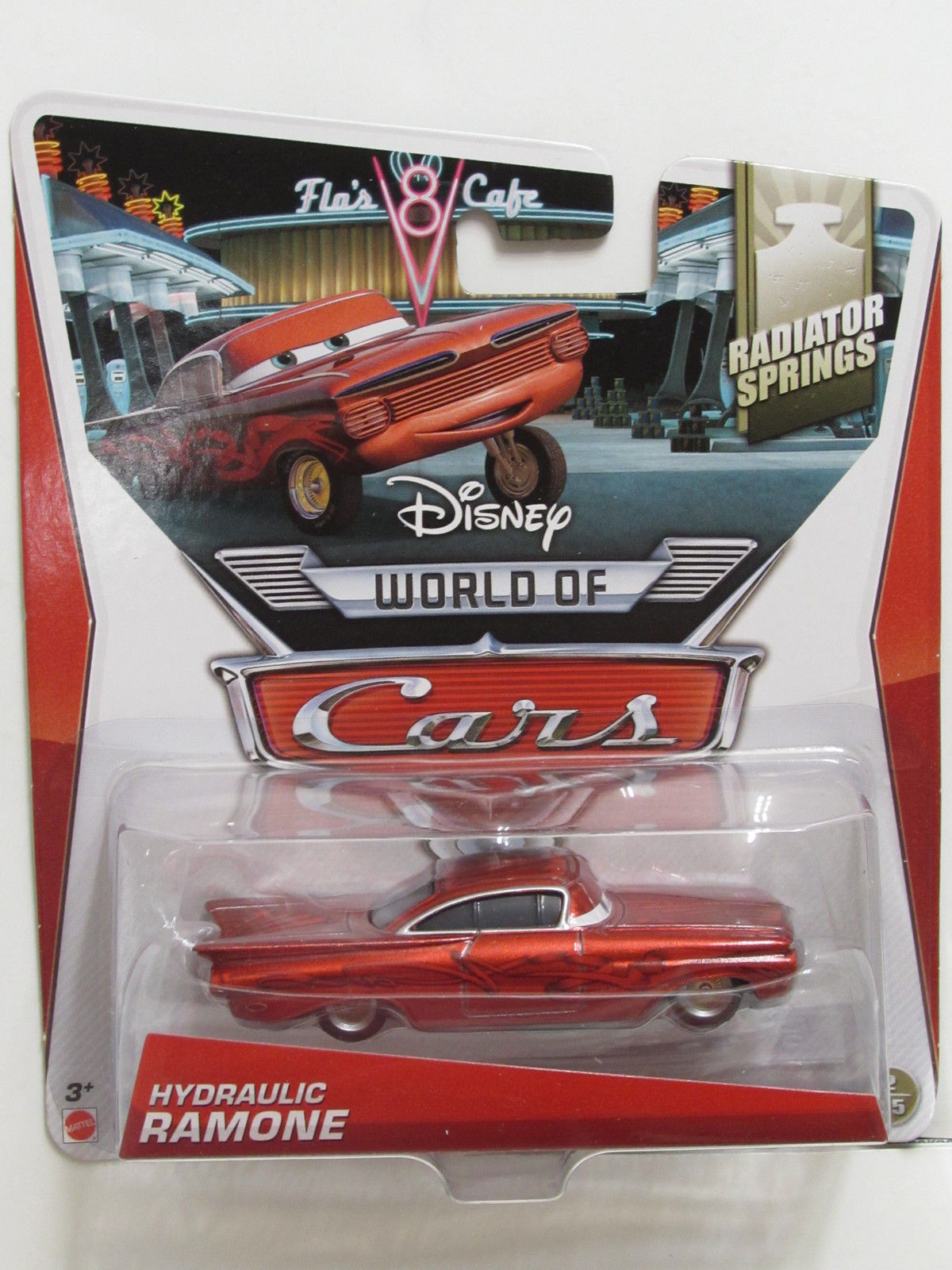 DISNEY PIXAR CARS WORLD OF CARS RADIATOR SPRINGS HYDRAULIC RAMONE