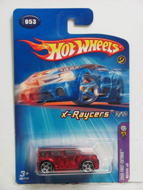 HOT WHEELS 2005 FIRST EDITIONS SCION XB #053 RED