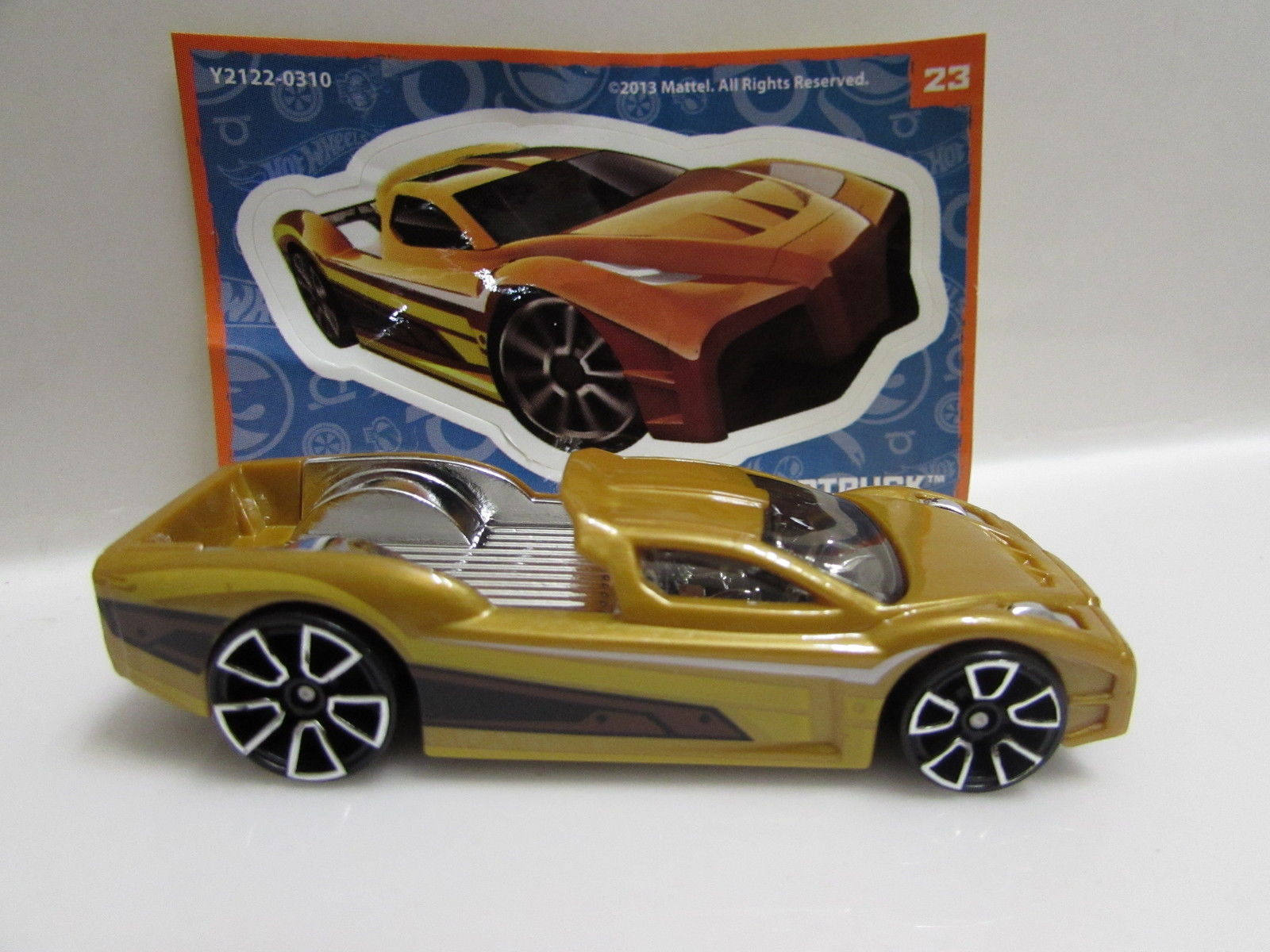 HOT WHEELS 2013 MYSTERY CARS SERIES 2 #23 HYPERTRUCK