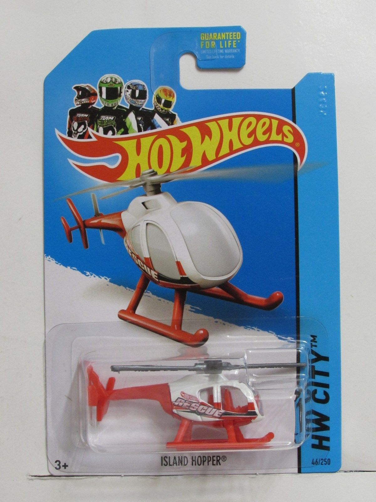 HOT WHEELS 2014 HW CITY - HW RESCUE ISLAND HOPPER