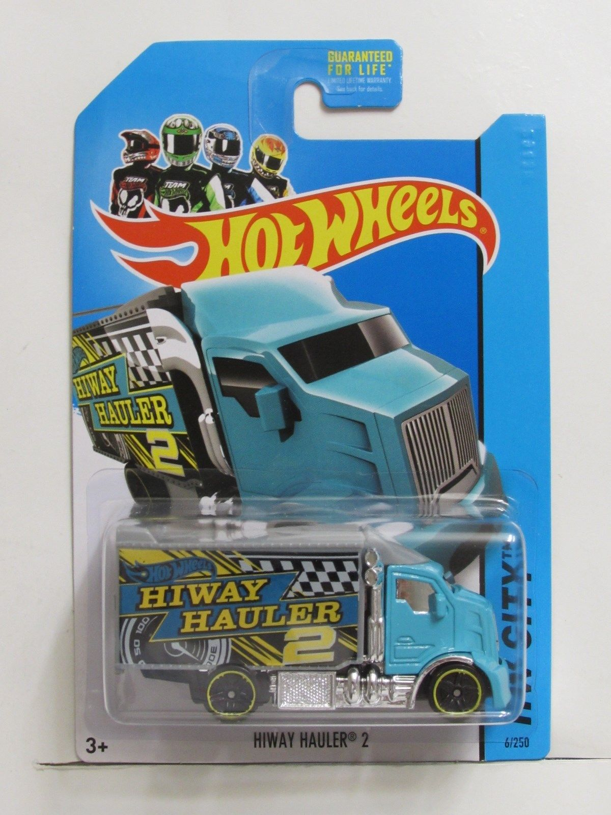HOT WHEELS 2014 HW CITY - HW CITY WORKS HIWAY HAULER 2