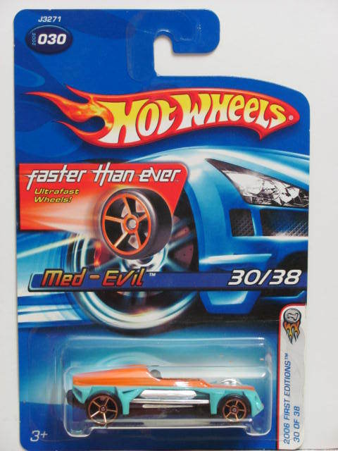 HOT WHEELS 2006 FIRST EDITIONS FTE MED-EVIL