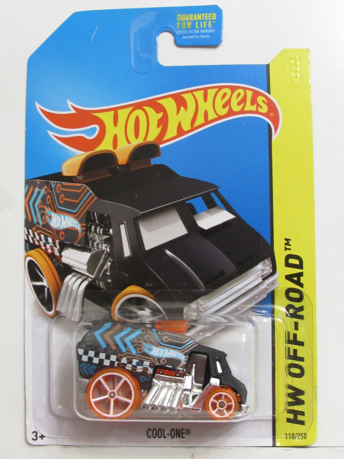 HOT WHEELS 2014 HW OFF-ROAD HW TEST FACILITY COO-ONE