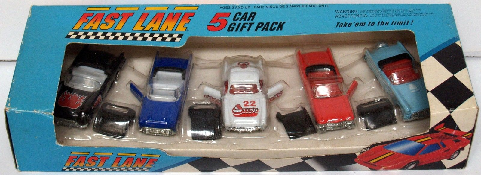 1991 FAST LANE - 5 CAR PACK