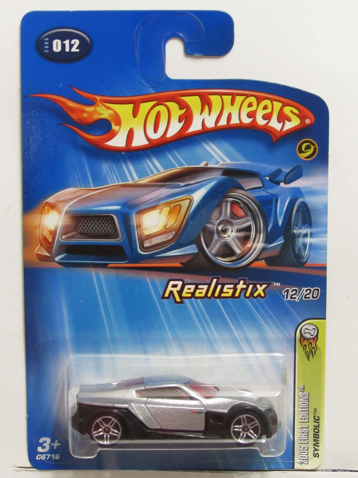 HOT WHEELS 2005 FIRST EDITIONS REALISTIX SYMBOLIC #012