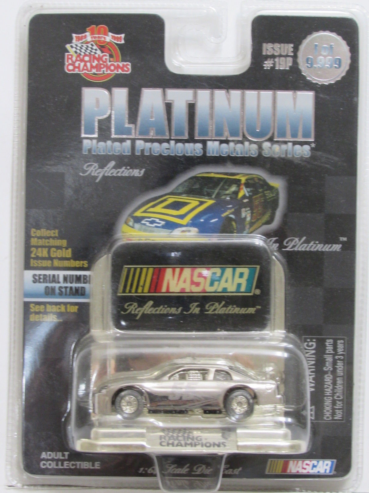 1999 RACING CHAMPIONS PLATINUM SERIES - NASCAR ISSUE #19P