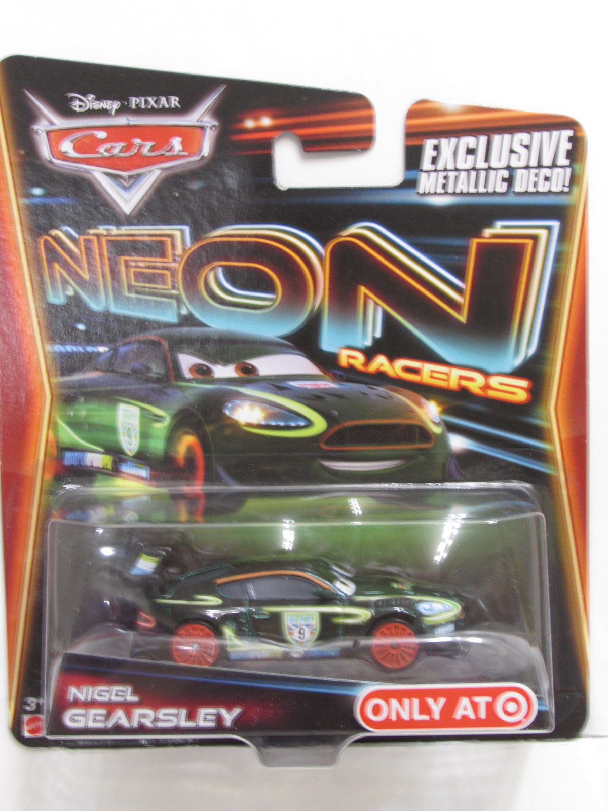 DISNEY PIXAR CARS NEON RACERS TARGET NIGEL GEARSLEY